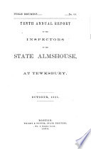 Annual Report of the Trustees of the State Infirmary at Tewksbury by State Infirmary at Tewksbury (Mass.) PDF