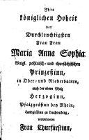 Trauerrede auf den tödtlichen Hintritt Maximilian Joseph III. ... in Ober- und Niederbayern Churfürsten ...