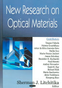 New Research On Optical Materials Book PDF