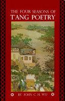 Four Seasons of T'ang Poetry Pdf/ePub eBook