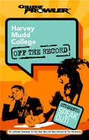 Harvey Mudd College College Prowler Off the Record