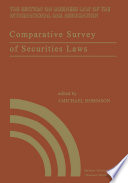 Comparative Survey of Securities Laws