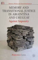 Pdf Memory and Transitional Justice in Argentina and Uruguay Telecharger