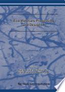 Eco-Materials Processing and Design IX