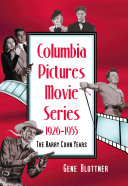 Columbia Pictures Movie Series, 1926Ð1955