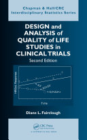 Pdf Design and Analysis of Quality of Life Studies in Clinical Trials Telecharger