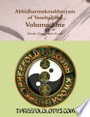 Abhidharmakosabhasyam Of Vasubandhu Volume One PDF