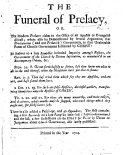 The Funeral of Prelacy, Or, the Moder Prelates Claim to the Office of an Apostle Or Evangelist Discust [by Robert Whyte] ... In Answer to a Late Pamphlet Intituled Imparity Amongst Pastors, the Government of the Church by Divine Institution, as Maintained in an Extemporary Debate, Etc. [By John Hay.] ... There is Also Added a Postscript, and an Appendix; The First Containing a Few Remarks on a Late Pamphlet Intituled Self-Condemnation [by John Hay], and the Last, a Few Reflections on the Essay for Peace by Union in Judgement about Church Government, Etc. [by Sir F. Grant, Lord Cullen.] ebook