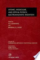Electromagnetic Radiation  Atomic  Molecular  and Optical Physics
