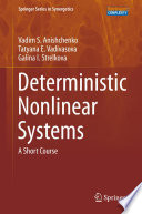 Deterministic Nonlinear Systems Book PDF