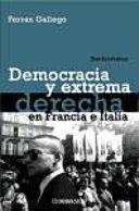 Democracia y extrema derecha en Francia e Italia