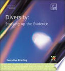 Diversity   Stacking Up The Evidence