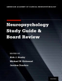 Pdf Clinical Neuropsychology Study Guide and Board Review Telecharger