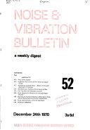 NVB  Noise   Vibration Bulletin