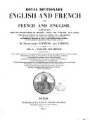 Royal Dictionary English and French and French and English ebook