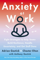 Anxiety At Work Book PDF