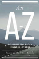 An A   Z of Applied Linguistics Research Methods