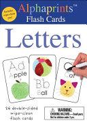 Alphaprints  Wipe Clean Flash Cards Letters