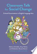 Classroom Talk for Social Change Book PDF