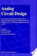 Analog Circuit Design Book PDF