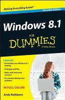 Windows 8.1 For Dummies, Portable Edition
