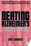 Beating Alzheimer s