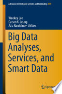 Big Data Analyses  Services  and Smart Data Book PDF