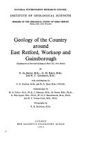 Geology of the Country Around East Retford  Worksop and Gainsborough
