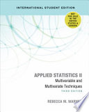 Applied Statistics II - International Student Edition