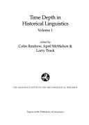 Time Depth in Historical Linguistics