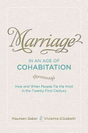 Marriage in an Age of Cohabitation