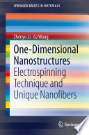 One Dimensional nanostructures