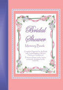 Bridal Shower Memory Book