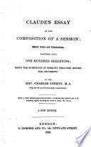 Claude's Essay on the Composition of a Sermon