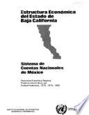 Estructura económica del Estado de Baja California