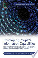 Developing People's Information Capabilities
