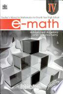 E-math Iv Tm' 2007 Ed.(advanced Algebra & Trigonometry)