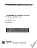 A Comprehensive Assessment Of Public Information Dissemination Comprehensive Assessment Of Public Information Dissemination