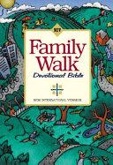 NIV Family Walk Devotional Bible Book