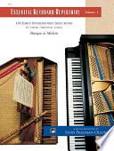 Essential Keyboard Repertoire  Volume 1
