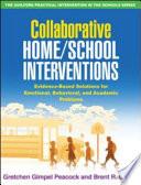 Collaborative Home school Interventions Book