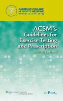 Prescription   ACSM Resource Manual for Exercise Testing   Prescription Book