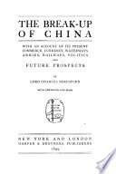 The Break up of China