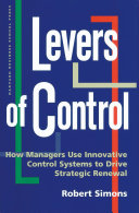 Pdf Levers of Control