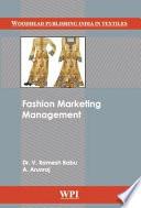 FASHION MARKETING MANAGEMENT.