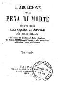 L'abolizione della pena di morte