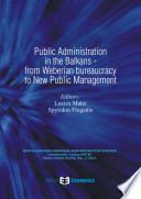 Public Administration in the Balkans from Weberian Bureaucracy to New Public Management Book