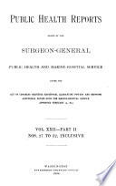 Health Services Reports