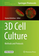 3D Cell Culture Book