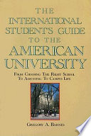 The International Student's Guide to the American University